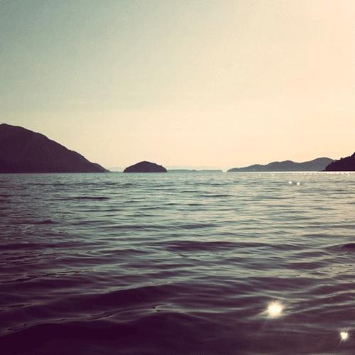 Crossing Howe Sound