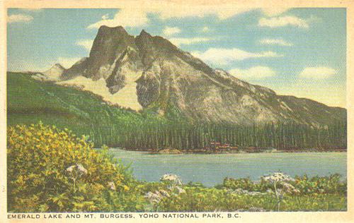 Emerald Lake and Mt. Burgess, Yoho National Park