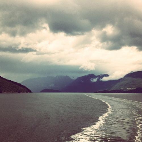 Passing Bowen Island