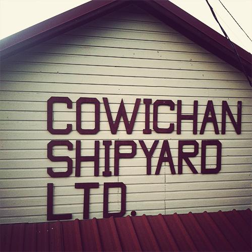 Cowichan Shipyard, Jason Landry, 2012